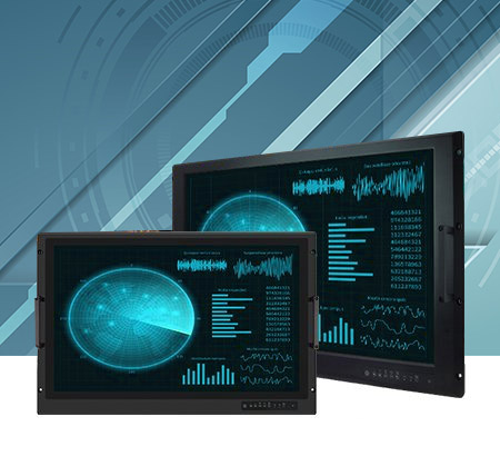 """Military Console Rack Panel PC & Display 19""""/ 24"""""""