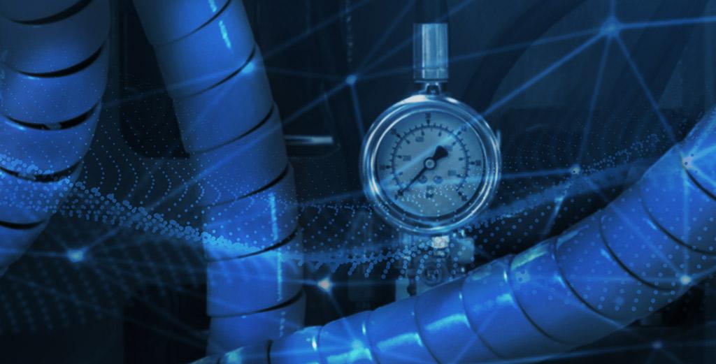 Flow computer gauge
