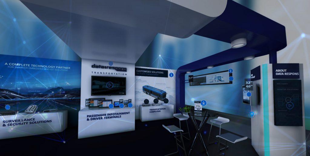 Digital Transportation Exhibition Booth