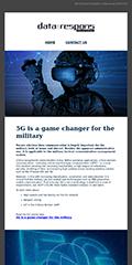 Newsletter 01 2021 - 5G, Military Defence
