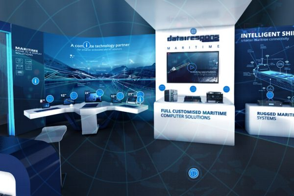 Digital Maritime Solutions Exhibition Booth