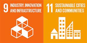 UN SDG goals 9 and 11