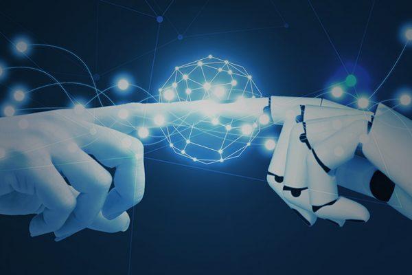 Human hands and robot hands meet