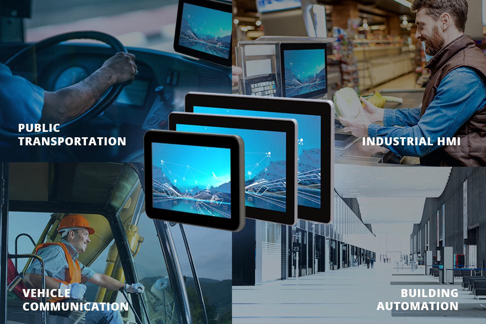 Smart HMI Panel PCs-Application
