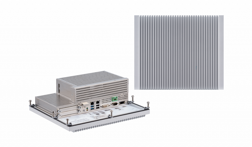 CMC 300-F2x - High-performance industrial fanless PC with 9th Gen Intel® Core™ i7/i5/i3 or Intel® Xeon® CPU