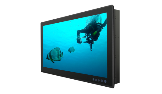 24 Inch Flat P-CAP Marine Display W24L100-MRA1FP