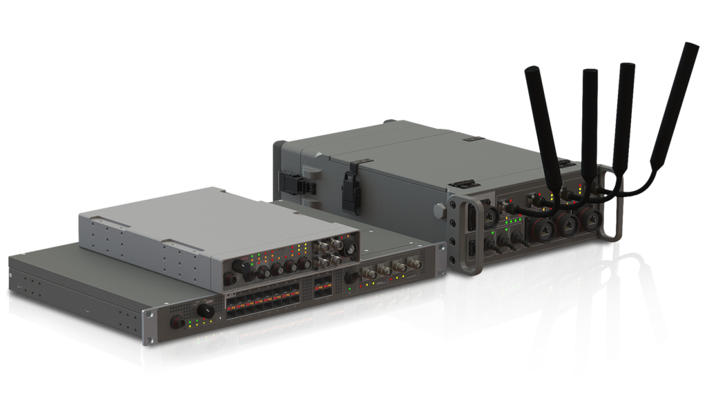 Rugged portable and vehicle mounted nodes for tactical communication
