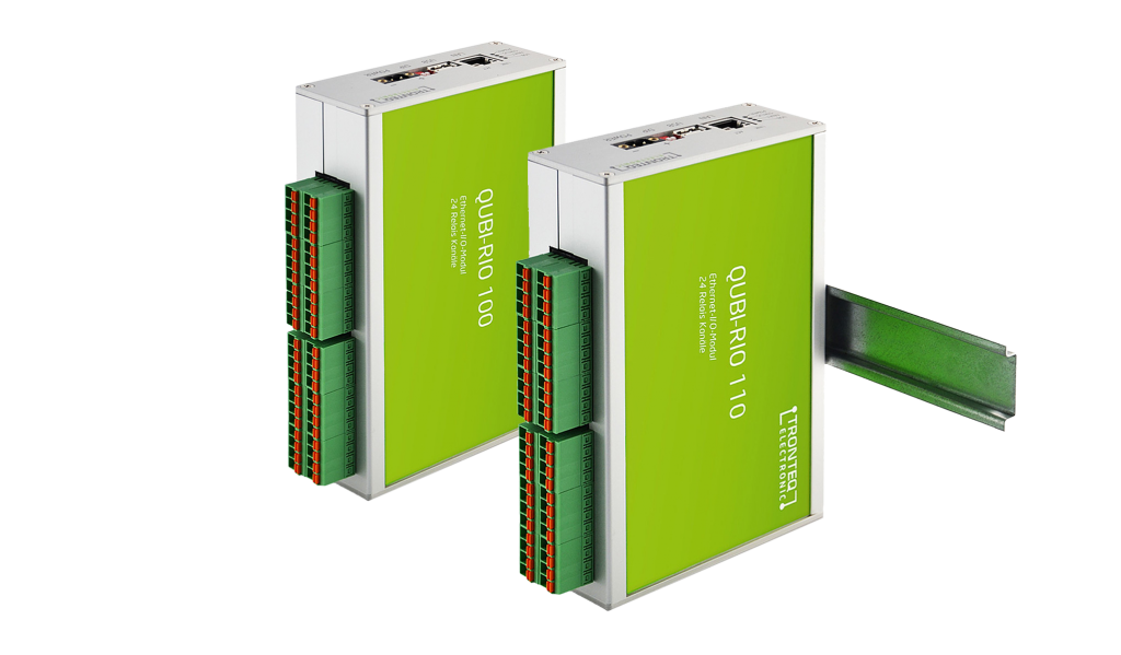 Powerful Ethernet Remote I/O Relais Module (TCP/IP, UDP) – QUBI-RIO