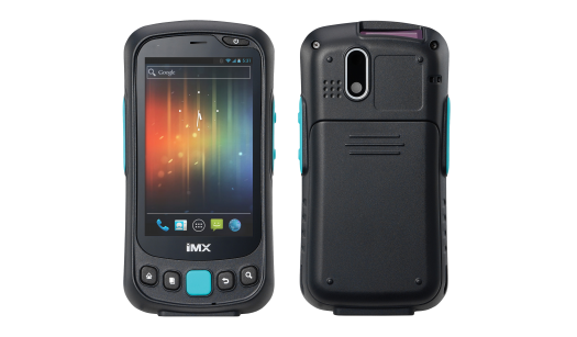 Mobile handheld computer with RFID/Barcode – IMX-3000