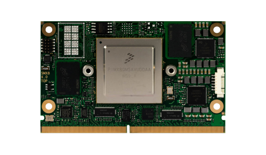 SMARC 2.0 module with NXP i.MX8 processor – conga-SMX8